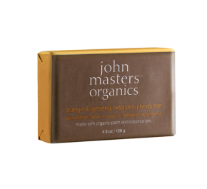 ORANGE & GINSENG EXFOLIATING BODY BAR