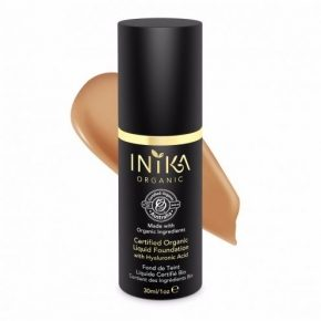 CERTIFIED ORGANIC LIQUID FOUNDATION WITH HYALURONIC ACID HONEY